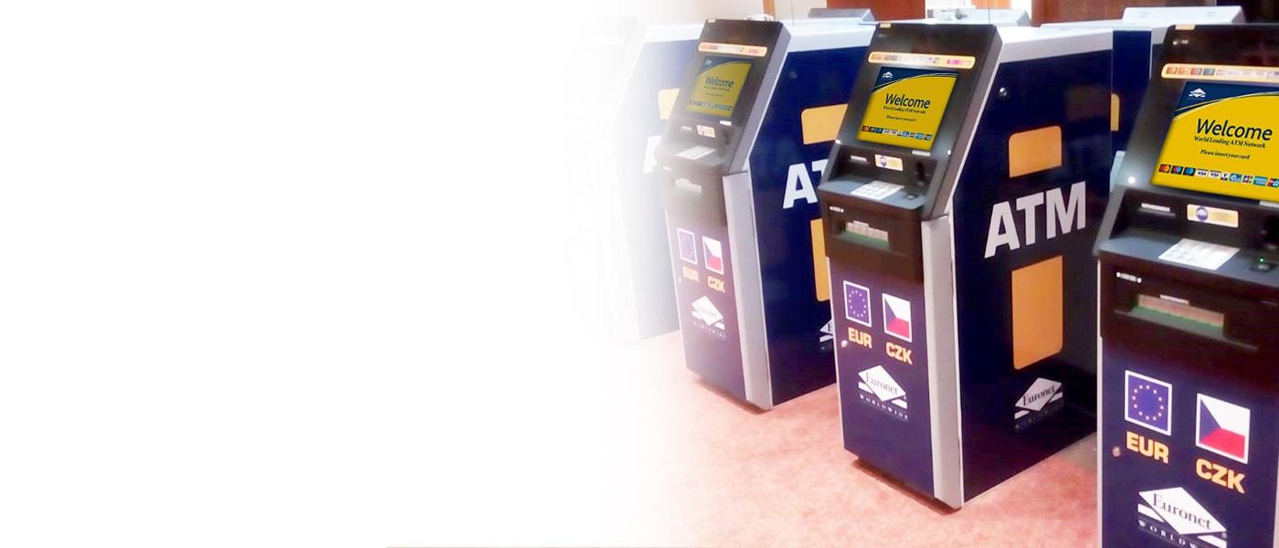 Bankomat Euronet pomůže vašemu podnikání a poskytne zákazníkům a občanům přístup k hotovosti.