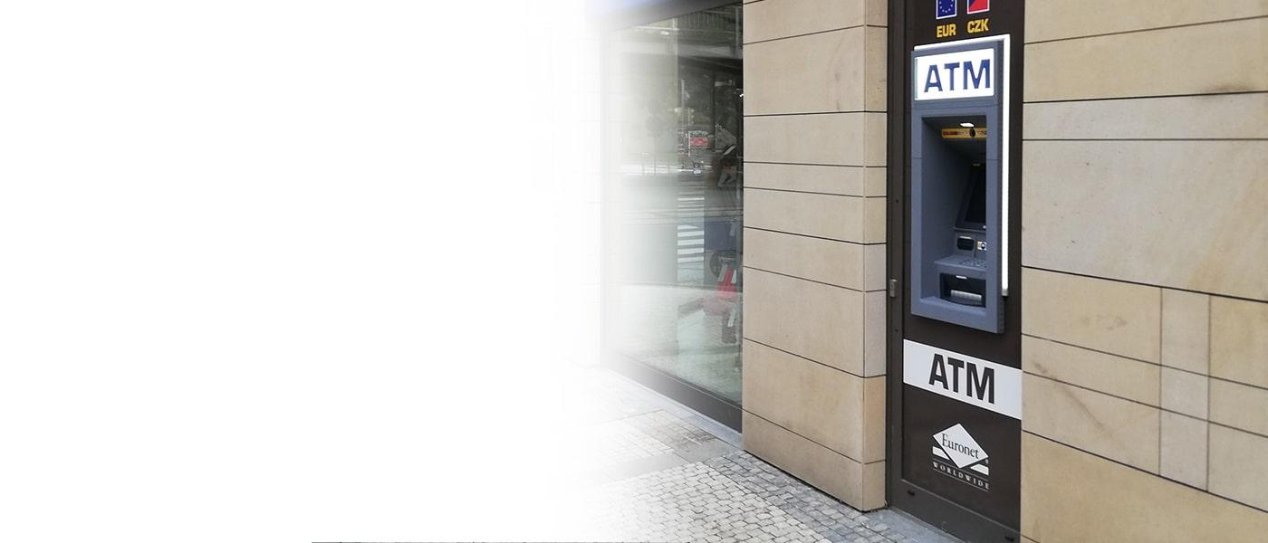 Nabídněte svým zákazníkům a občanům doplňkovou službu ve formě bankomatu Euronet. Cenová nabídka