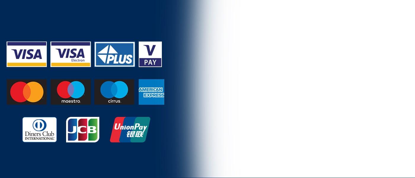 Bankomaty Euronet akceptují všechny nejrozšířenější karty